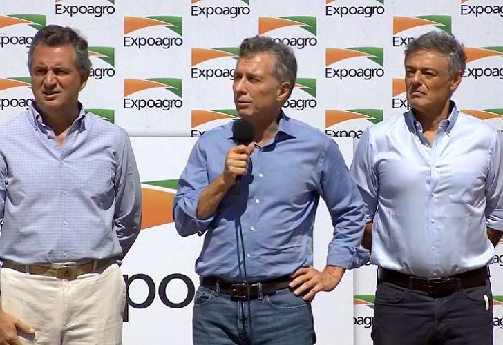 Resultado de imagen para Expoagro: Macri