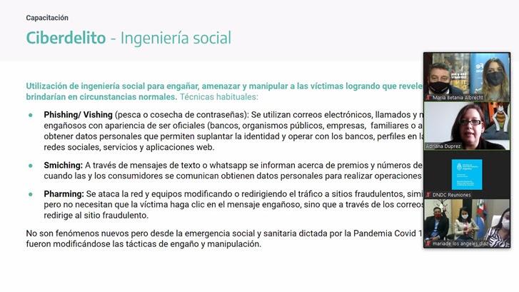 La provincia se capacita en materia de protección de consumidores ante  estafas y ciberdelitos – Rufinoweb.com.ar